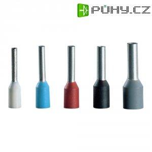 Kabelové dutinky s plastovým límcem Vogt, 490912, Ø 16 mm², délka dutinek 12 mm, 100 ks, modrá