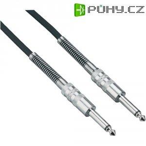 Instrumentální kabel JACK 6,3 mm Paccs, 1 m, černá