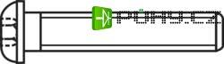 Čočkové šrouby s vnitřním šestihranem TOOLCRAFT, ISO 7380, M3 x 12, 100 ks