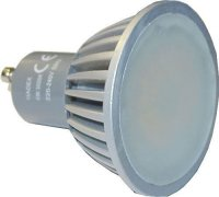 Žárovka LED GU10 bílá, 230/5W
