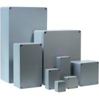 Univerzální pouzdro hliníkové Bernstein AG CA-150, (d x š x v) 125 x 80 x 57 mm, stříbrná
