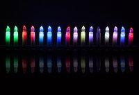 Svíčky vánoční 16 LED CANDLE RGB RETLUX RXL 41