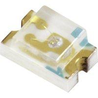 SMD LED Everlight Opto, 17-21SYGC/S530-E1/TR8, 20 mA, 2 V, 140 °, 10 mcd, zelená, 17-21VGC/TR8
