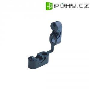 Kabelová příchytka HellermannTyton KK4-N66-BK-D1 (234-10400), 7.5 - 8.5 mm, černá