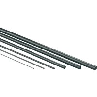 Uhlíkový profil půlkruh Ø 0,9 mm, 500 mm