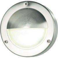 Venkovní nástěnné LED svítidlo, 2,4 W, stříbrná