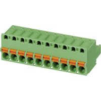 Konektor pružinový Phoenix Contact FKC 2,5/ 4-ST (1910377), AWG 24 -12, zelená
