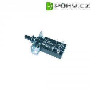 Spínač, PWL-2P1TL-6SASHA, 250 V/AC, 6 A, 2x vyp./zap., černá