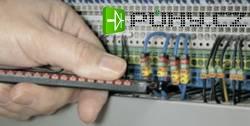 Značkovací nástroj pro identifikační klipsy WICR - černý