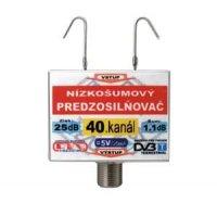 Anténní zesilovač DVB-T 40K 5V 25dB F