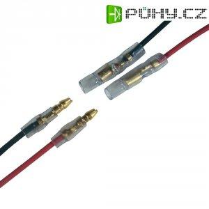Kabel s koncovkou motoru Modelcraft, 1 pár, 1,5 mm, zástrčky a konektory