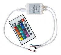 RGB kontroler pro LED pásky 12V - bez koncovky