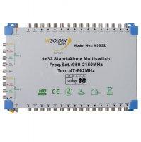 Satelitní multipřepínač Golden Media MS932 9/32