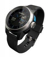 COOKOO hodinky, stříbrno-černé