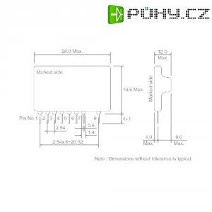 DC/DC měnič Serie BP ROHM Semiconductor BP5222A, 12 V/DC
