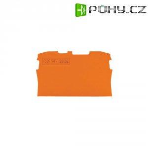 Zakončovací deska Wago 2006-1292, oranžová