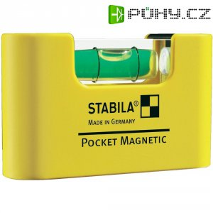 Mini vodováha Stabila Pocket Magnetic 17774, 68 mm, s extra silným magnetem