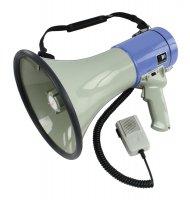 Megafon 25W s odnímatelným mikrofonem HQ-MEGAPHONE35