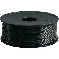 Náplň pro 3D tiskárnu, Renkforce PLA175B1, PLA, 1,75 mm, 1 kg, černá