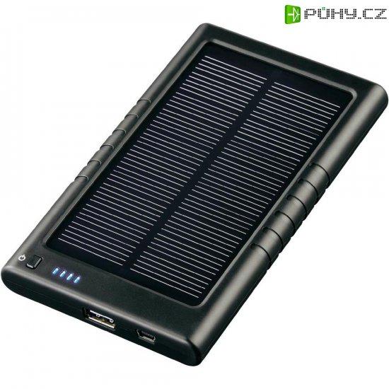 Přenosná solární nabíječka Hama 3000, 3000 mAh - Kliknutím na obrázek zavřete
