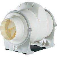 Venkovní potrubní ventilátor Wallair DUCT IN-LINE 100/270, 270 m³/h, 100 mm, bílá