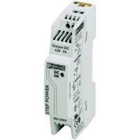 Zdroj na DIN lištu Phoenix Contact STEP-PS/1AC/12DC/1, 12 V/DC, 1 A