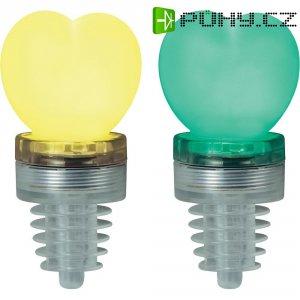 Párty špunt s LED osvětlením TiP Party Cork Heart, 3855, zelená/žlutá