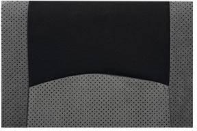 Autopotahy Petex Classic 24274918, 17dílná, polyester, černá, šedá