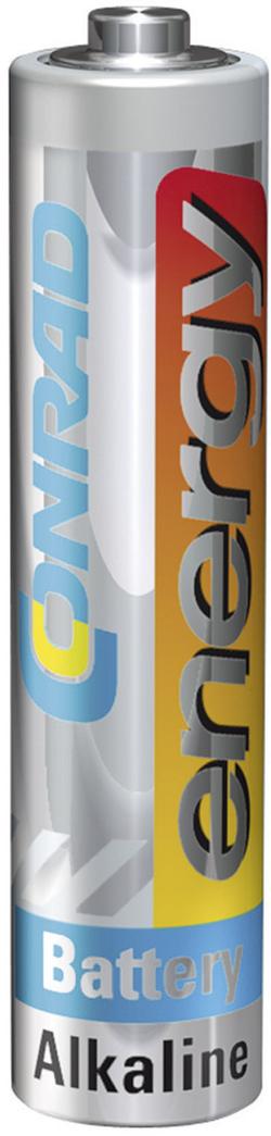 Box na baterie Conrad energy Alkaline, včetně 18x AA, 14x AAA, 4x 9 V a zkoušečky baterií