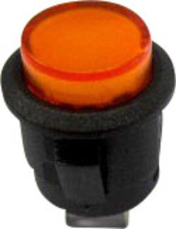 Tlačítkový spínač R13-523BL-05žlutá LED