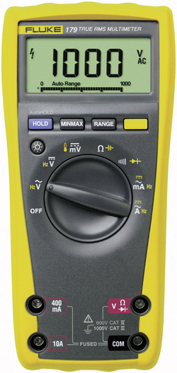 Sada digitálního multimetru Fluke 179/EDA2