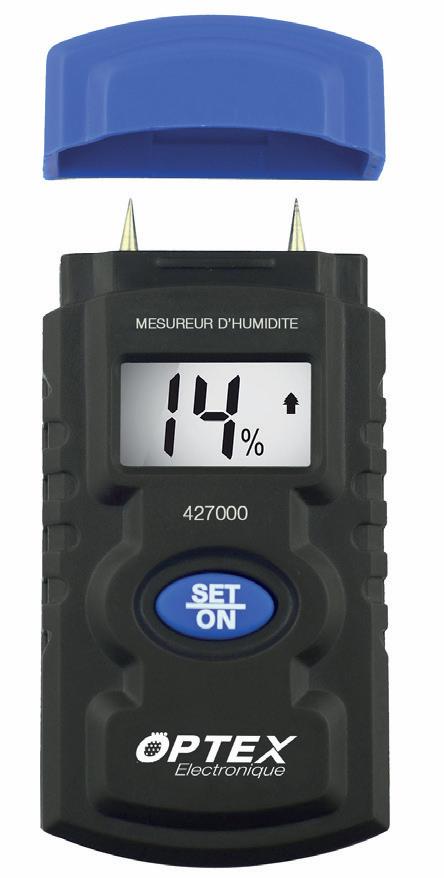 OPTEX 427000 Digitální měřič vlhkosti MH427