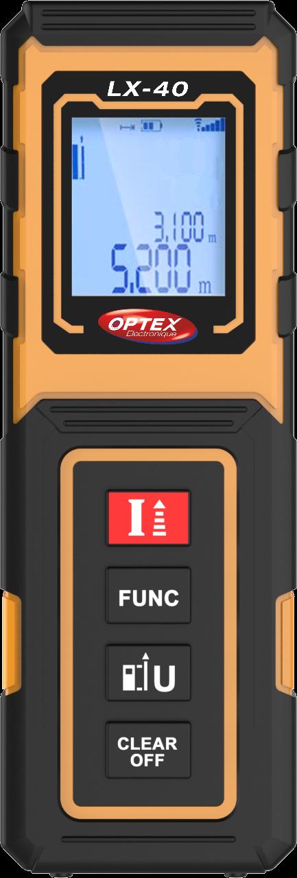 OPTEX 427021 Digitální laserový dálkoměr LX-40