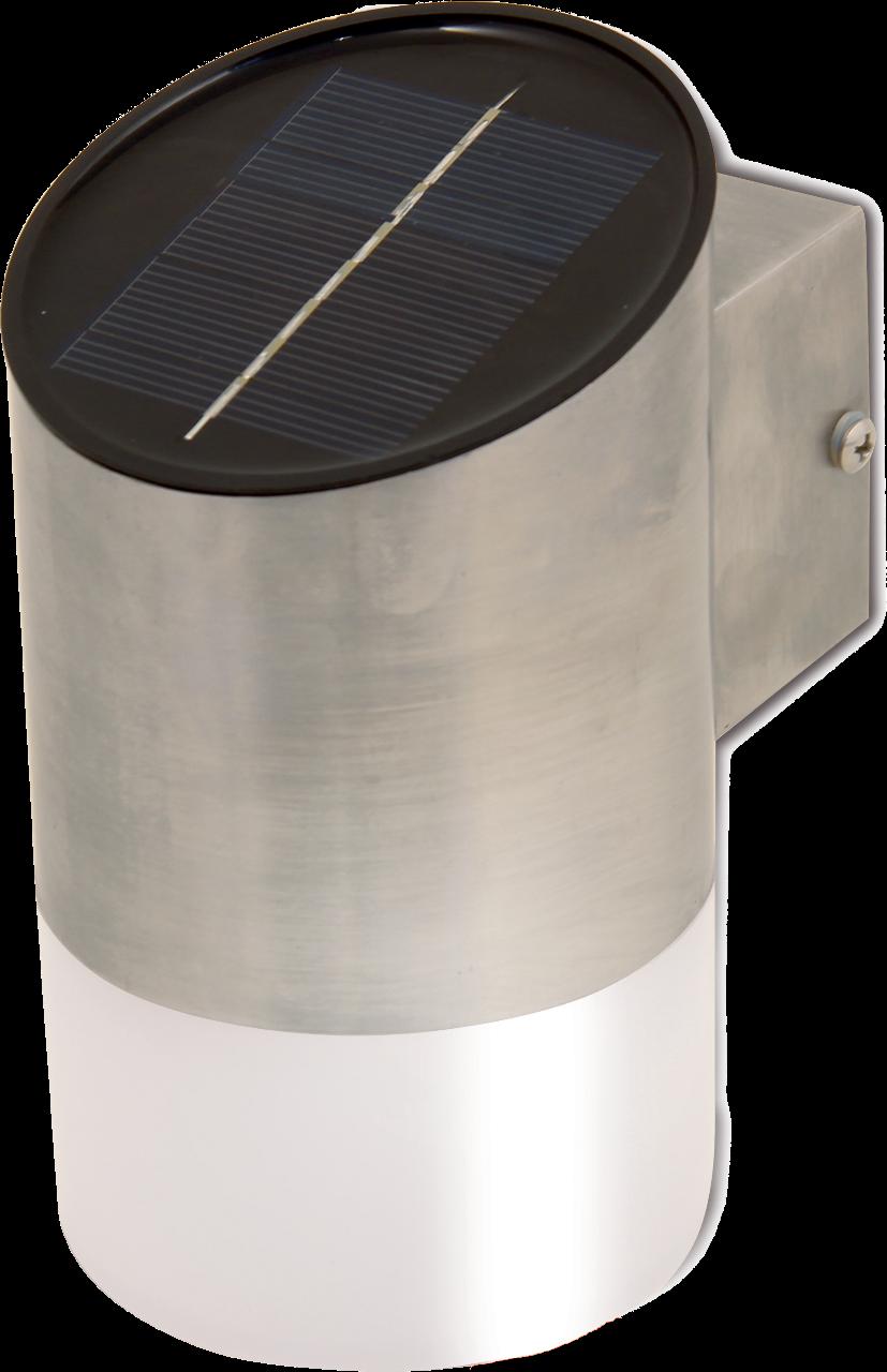 VELAMP solární nástěnné venkovní svítidlo se světelným senzorem FIRE FLY SL310