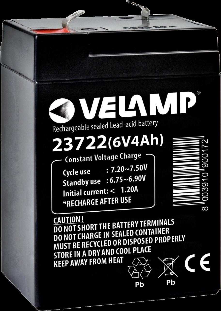 VELAMP 6V nabíjecí baterie, 4 Ah V23722 bal. 1ks
