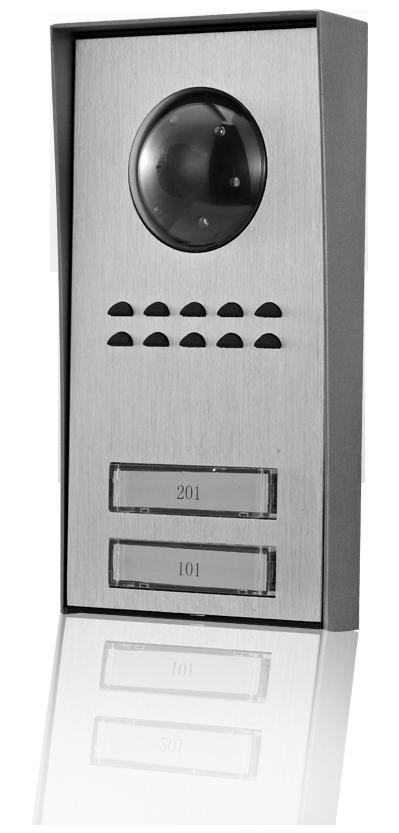 MOVETO 541061 Venkovní jednotka Z-061 se dvěma zvonky pro domovní videotelefon M-060