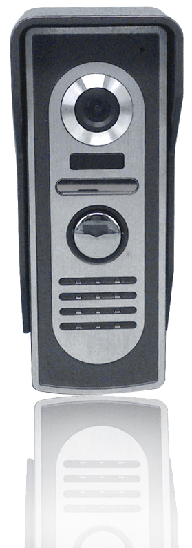 MOVETO 541062 Venkovní jednotka Z-062 s jedním zvonkem pro domovní videotelefon M-060