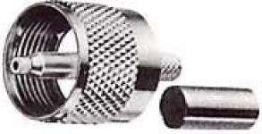 UHF konektor kabelový 5mm (RG58) lisovací CRIMP