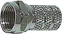 F konektor na koax 5mm šroubovací