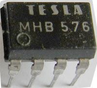 MHB576 - obvod pro regulaci triaků, DIL8