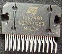 TDA7490L - nf zesilovač 2x15W ve třídě D, Flexiwatt25