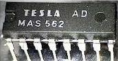 MAS562 - bezkontaktní přepínání kanálů TV, DIL16