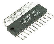 TA8202K - nf zesilovač 2x3W