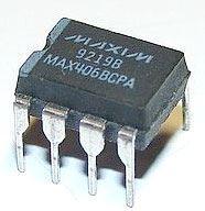 MAX406BCPA - 1xOZ, 1,2uA, DIP8