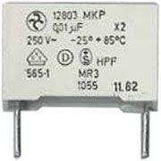 10n/250V~ MKP12803, svitkový kondenzátor radiální