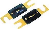 Autopojistka plochá pod šroubky 80A,délka 80mm,rozteč pro šrobky 60 mm