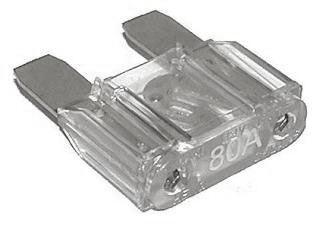 Autopojistka 80A velká-30x35mm