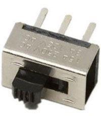 Přepínač posuvný ON-ON 2pol. 250V/0,5A