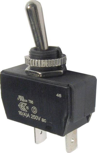 Přepínač páčkový ON-ON 4pol.250V/10A
