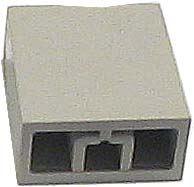 Hmatník pro izostat světle šedý 15x17x8mm